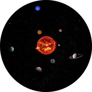 Redmark Diapositiva per planetari Bresser e NG con il Sistema Solare