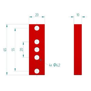 PrimaLuceLab PLUS 10mm spacers