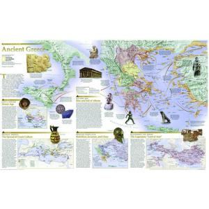 National Geographic Map Greece - 2-seitig