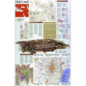 National Geographic Mappa Regionale Terra Santa