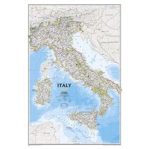 Carte géographique National Geographic Italie