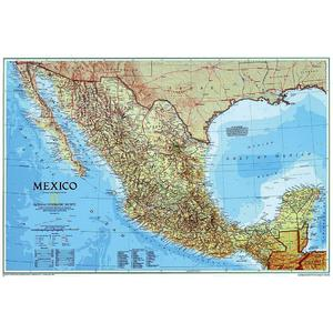 National Geographic Map Mexico