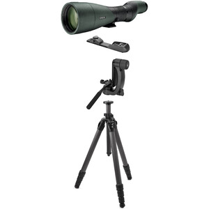 Swarovski Special offer spotting scope STX 30-70x95 with PCT-tripod and BR Balance Rail + tripod head
