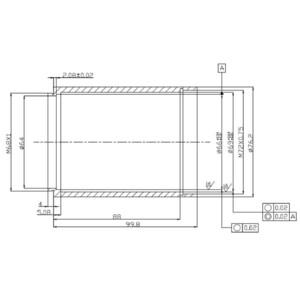"TS Optics Coma Corrector Newtonian 1.0x Riccardi Design 3"""
