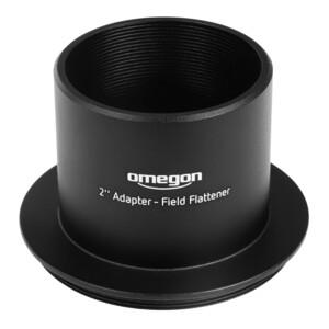 """Omegon Adattore Adapter 2"""" auf Field Flattner"""