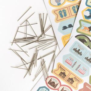Miss Wood Sticker Pack (alle 4 Stück)