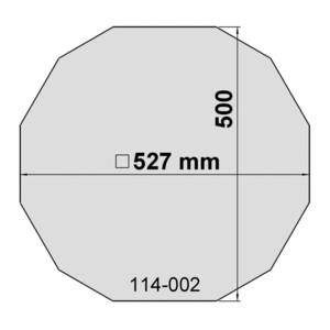 euro EMC Ersatzfolie für Sonnenfilter Größe 14