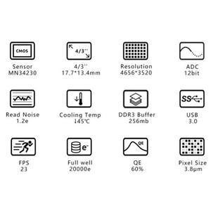 ZWO Kamera ASI 1600 GT Mono