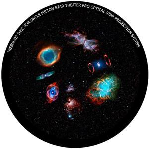 Omegon Dia für das Star Theater Pro mit Motiv Galaktische Nebel