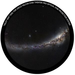 Omegon Dia für das Star Theater Pro mit Motiv Milchstraße