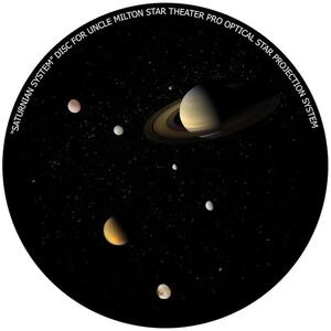 Omegon Dia für das Star Theater Pro mit Motiv Saturn-System