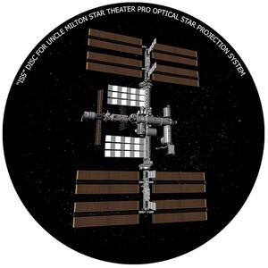 Omegon Dia für das Star Theater Pro mit Motiv ISS