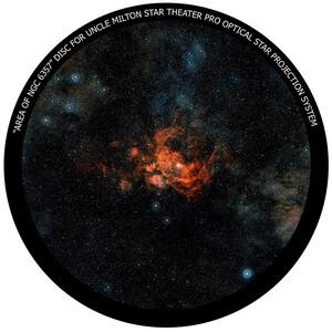 Omegon Dia für das Star Theater Pro mit Motiv NGC 6357