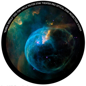Omegon Disc for the Star Theatre Pro with Bubble Nebula motif
