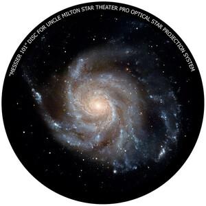 Omegon Dia für das Star Theater Pro mit Motiv Messier 101