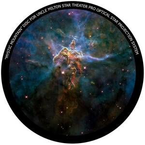 Omegon Disc for the Star Theatre Pro with Mystic Mountain motif