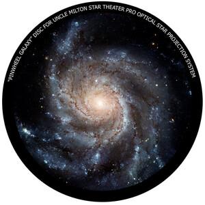 Omegon Dia für das Star Theater Pro mit Motiv Feuerradgalaxie