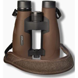 DDoptics Binoculars Pirschler 8x56 Gen.3 brown Loden cloth/ Leather