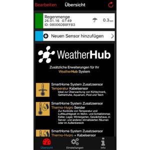 TFA Wireless Stazione Meteo WeatherHub Starter Set with Rain gauge