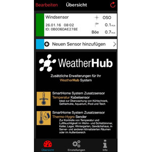 TFA WeatherHub Starter-Set with wireless wind meter
