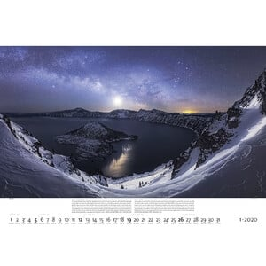 Palazzi Verlag Kalender Nachtwelten 2020