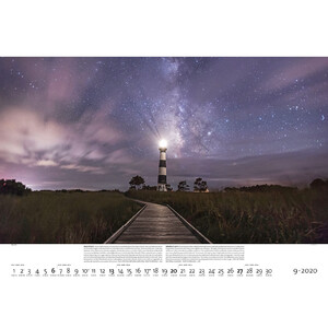 Palazzi Verlag Calendar Nightscapes 2020