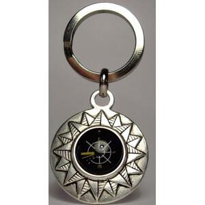 Ragalaxys Keychain Compass Wind Rose