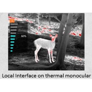 Guide Thermal imaging camera TrackIR 35mm