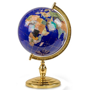 Globe Pretty Decor Cusco 33cm blue
