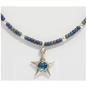 Ragalaxys Necklace Fashion your Star (Turquoise)