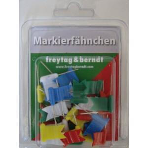 freytag & berndt Markierungsfahnen wehend farblich gemischt 30 Stück
