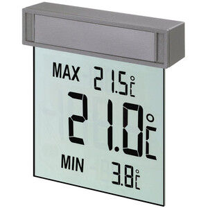 TFA Wireless Stazione Meteo Digital Window Thermometer Vision