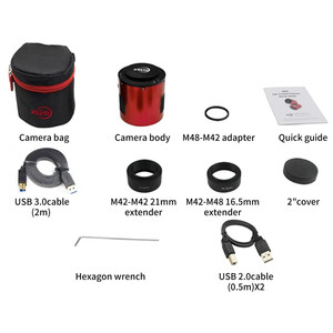 ZWO Aparat fotograficzny ASI 2600 MC Pro Color
