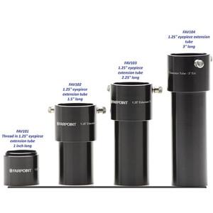"""Farpoint Extension tube Verlängerungshülse 1,25"""", optischer Weg 37,5mm"""