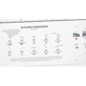 Marmota Maps Mappa del Mondo Explore the World 200x140cm