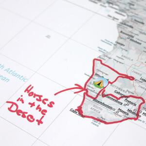 Marmota Maps Mappa del Mondo Explore the World 100x70cm
