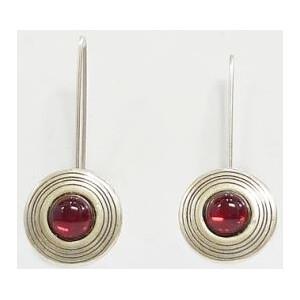 Ragalaxys Earrings Saturn red