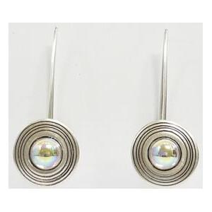 Ragalaxys Earrings Saturn iridiscent