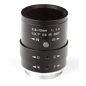 Omegon CS-Mount lense 2.8-12mm f/1.4