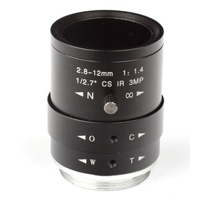 Omegon Obiettivo CS-Mount da 2,8-12mm f/1,4