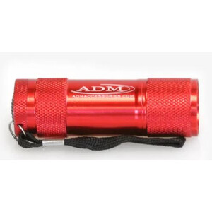 ADM Torcia per uso astronomico LED-Rotlichtlampe rot
