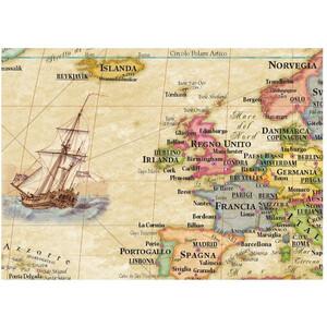 Libreria Geografica Mappa del Mondo Planisfero Anticato