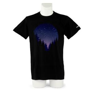 Omegon T-Shirt Camiseta de lluvia de meteoros de en talla L