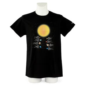 Omegon T-shirt Info Planets - Taille L