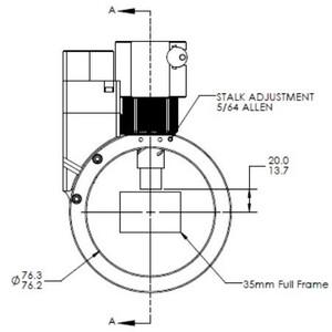 Optec Guida fuori asse Sagitta Off-Axis Guider motorisiert