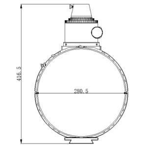 Télescope Omegon Pro Astrograph N 200/640 OTA