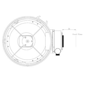 Omegon Telescopio Pro Astrograph N 150/420 OTA