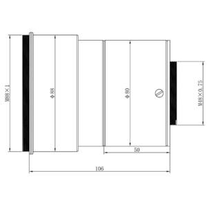 Omegon Redutor Pro 0.74x for 140/910 Triplet APO