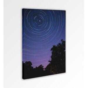 Oklop Leinwanddruck Sternspuren 50cmx75cm