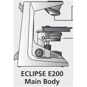 Nikon ECLIPSE E200 LED 3W, quadruple, r